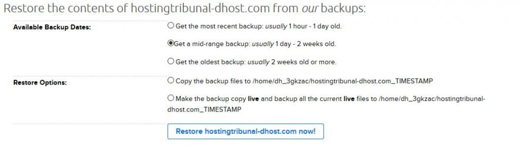 Backups are awesome.