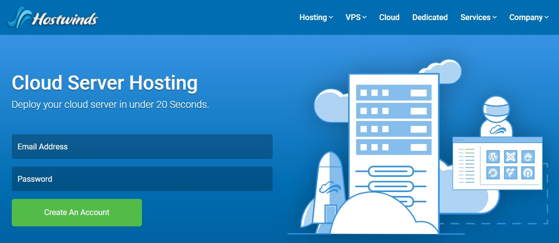 Best cloud hosting providers - Hostwinds