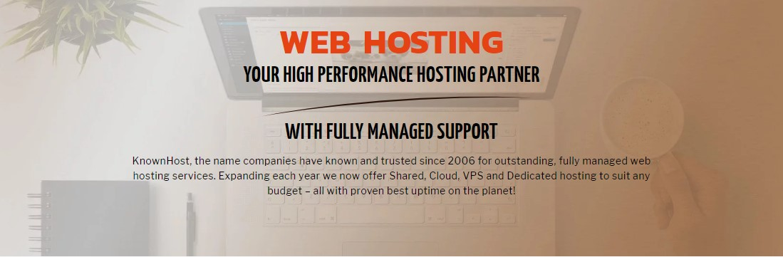 Best Cloud Hosting - KnownHost
